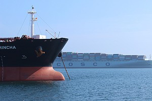 After Tentative Port Deal, Container Ships Still Line The...