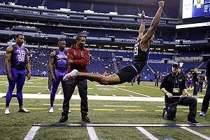 12 Feet: A Soaring New Broad Jump Record Is Set At NFL Combine