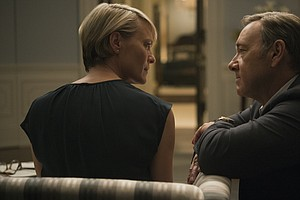 This Season On 'House Of Cards,' It's Tough To Be The Boss