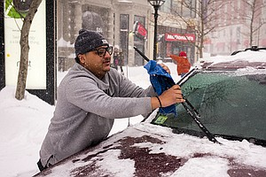 Not Clearing The Snow Off Your Car Before Driving Could Cost You