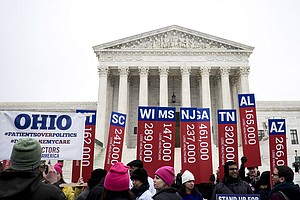Justices Roberts And Kennedy The Key Votes In Health Law Case