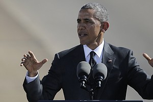 Obama: 50 Years After 'Bloody Sunday,' March Is Not Yet Over