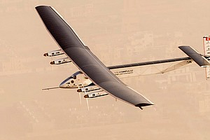 Solar-Powered Airplane Embarks On Attempt To Circle Planet