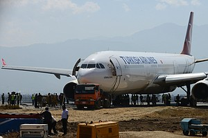 So How Did They Get That Crashed Plane Off The Runway In Kathmandu?