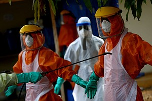 Several Americans Possibly Exposed To Ebola, As Epidemic Smolders