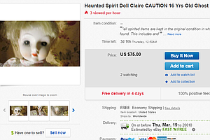 Haunted Dolls Are A Thing, And They're Not Cheap, Either