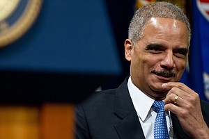 Attorney General Holder Jokes Republicans Have 'A New Fondness For Me'