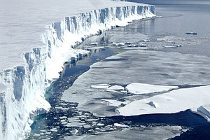 Big Shelves of Antarctic Ice Melting Faster Than Scientis...