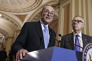 What Reid Endorsing Schumer As Top Democrat Means