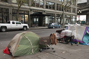 Amid Seattle's Affluence, Homelessness Also Flourishes
