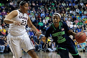 Three-Peat Or Upset? UConn And Notre Dame Play For Women's NCAA Title