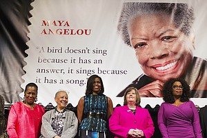 Maya Angelou's 'Forever' Stamp Forever In Error