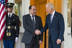 Biden Says ISIS 'No Longer On The Move' In Iraq