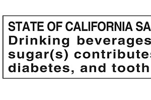 Is It Time For A Warning Label On Sugar-Loaded Drinks?