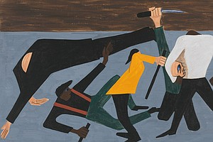 Painting the 'Epic Drama' Of The Great Migration: The Work Of Jacob Lawrence