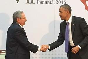 With A Handshake And More, Obama Shifts U.S.-Latin America Policy