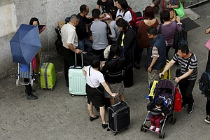 China Restricts Travel By Shenzen Residents To Hong Kong