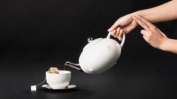 "The creators of the Playful Self tea set believe that ""in the future, biometric data will only become more ubiquitous."" And your tea set could become one of the devices gathering data. Project by: Alex Rothera & Jimmy Krahe. Tea set design: Pascal Hien. Photo by: Marco Furio Magliani. Playful Set Editor: Karen Oetling."