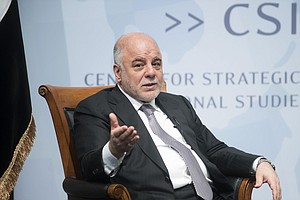 Iraq's Leader Finds Friends In Washington, But Faces Battles At Home