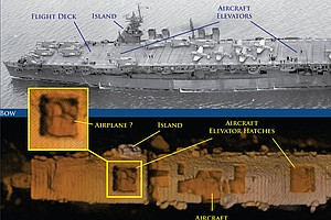 WWII Aircraft Carrier Is Found On Ocean Floor Near San Francisco