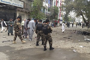 Suicide Bombing Kills At Least 35 In Jalalabad; ISIS Reportedly Claims Respon...
