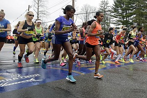 Boston Marathon Underway; Race Is Second Since Deadly 2013 Bombing