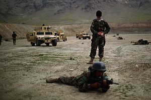 With The U.S. In The Background, Afghan Commandos Step It Up
