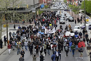 Protesters Pledge To 'Shut Down' Baltimore Over Police Custody Death