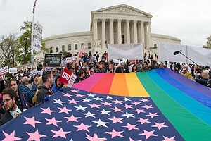 Legal Battle Over Gay Marriage Hits The Supreme Court Tue...