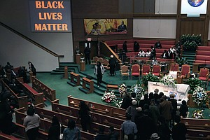 Freddie Gray's Funeral Spurs Calls For Calm; Huge Crowd E...