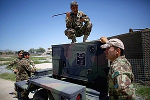 On Their Own, The Afghan Army Takes The Fight To The Taliban