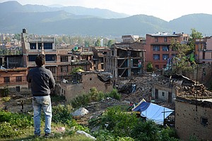 Big Aftershocks In Nepal Could Persist For Years