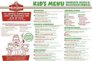 When You Make Kids' Meals Healthier By Default, They Stil...