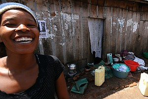 Irene, A Ugandan Prostitute, Explains How To Use A Condom