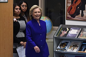 Clinton Charms DREAMers On Immigration