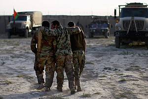Afghan Army Makes Progress; Will Government Services Follow?