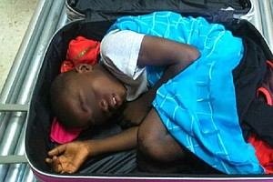 Spanish Customs Officials Foil Attempt To Smuggle Boy In Suitcase