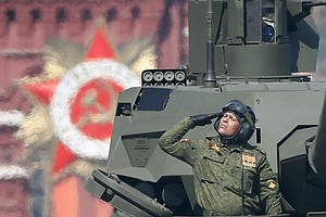 Russia Celebrates WWII Victory Over Germany