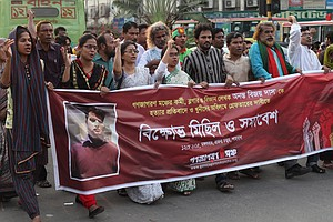 Blogger Is Hacked To Death In Bangladesh After Promoting ...