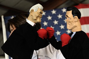 Mitt Romney To Fight Evander Holyfield. You Read That Right.