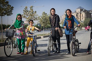 A Gender Revolution Hits The Streets, Two Wheels At A Time