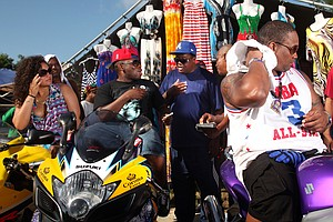 2 Biker Rallies: One White, One Black — One 'Badass,' The Other, Just 'Bad'
