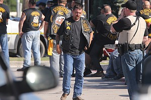 'They're Not Gang Members': Bikers Protest Mass Arrests I...