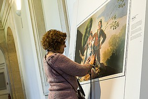 Do Touch The Artwork At Prado's Exhibit For The Blind