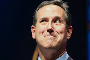 Santorum Hopes To Catch Lightning In A Bottle A Second Time