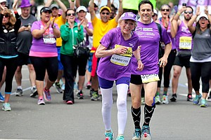 A 92-Year-Old Ran Her 16th Marathon And Broke A Record