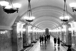 Glory Of Moscow's 80-Year-Old Subway Tainted By Stalin Co...