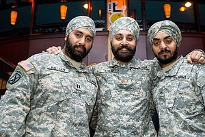 Why Are Only Three Observant Sikh Men Serving In The U.S. Military?