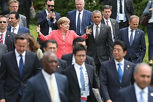 Day 2 Of G-7 Meeting Focuses On Climate Change, Terrorism