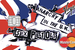 Sex Pistols Artwork To Be Featured On Virgin Money Credit...
